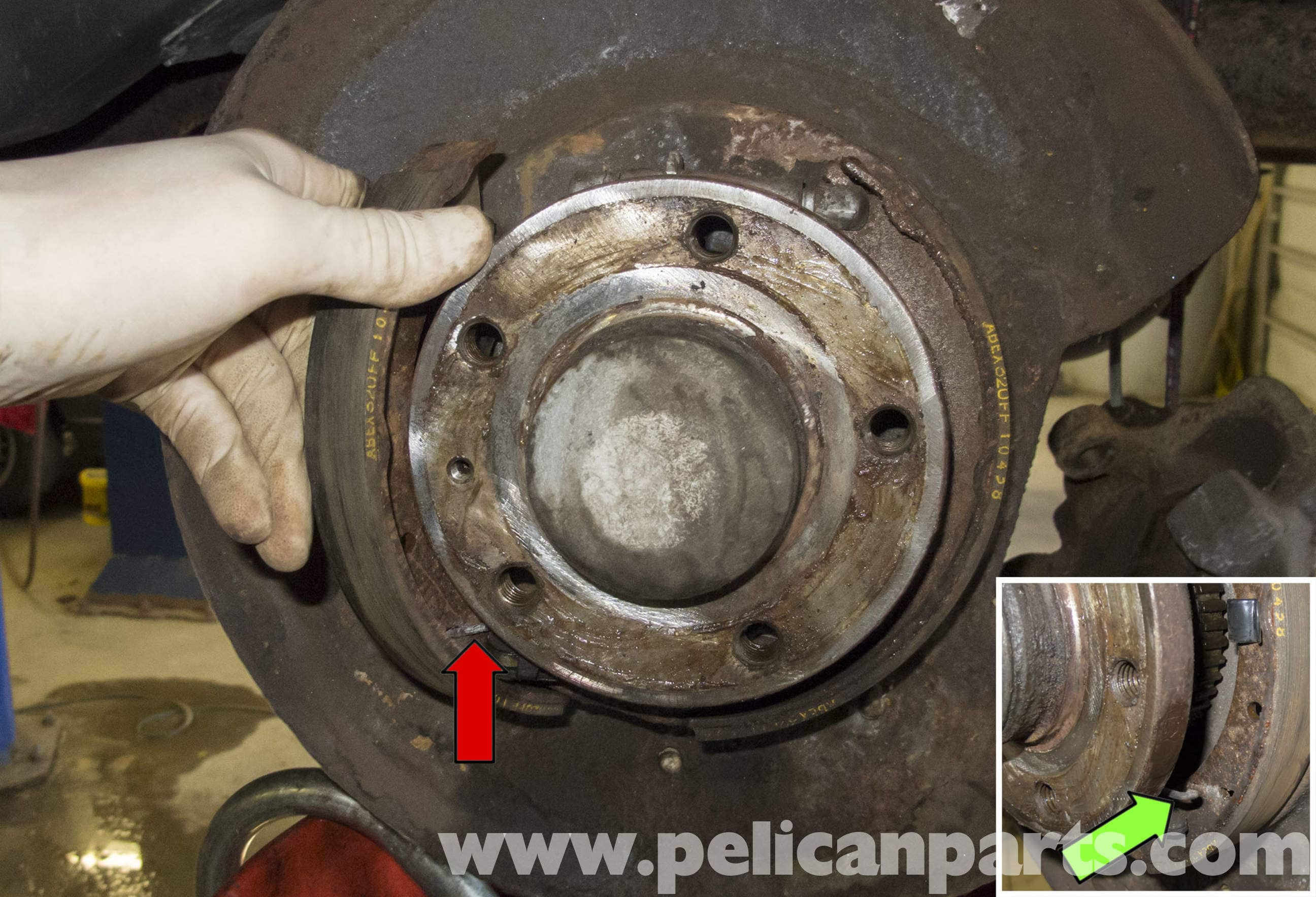 Volvo V70 Parking Brake Shoes Replacement 1998 2007