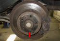 The rear wheel bearing on front wheel drive (FWD) Volvo V70 models is a sealed bearing and bolts onto the steering knuckle spindle with a single nut, unlike previous models that were cone and race bearings.