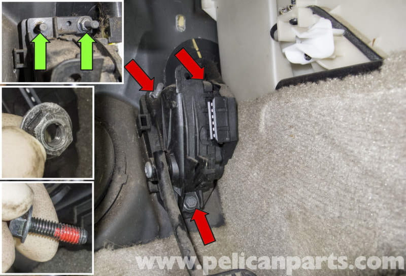 volvo  accelerator pedal sensor replacement