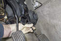 Once you have removed the fasteners, remove the sensor from the vehicle.