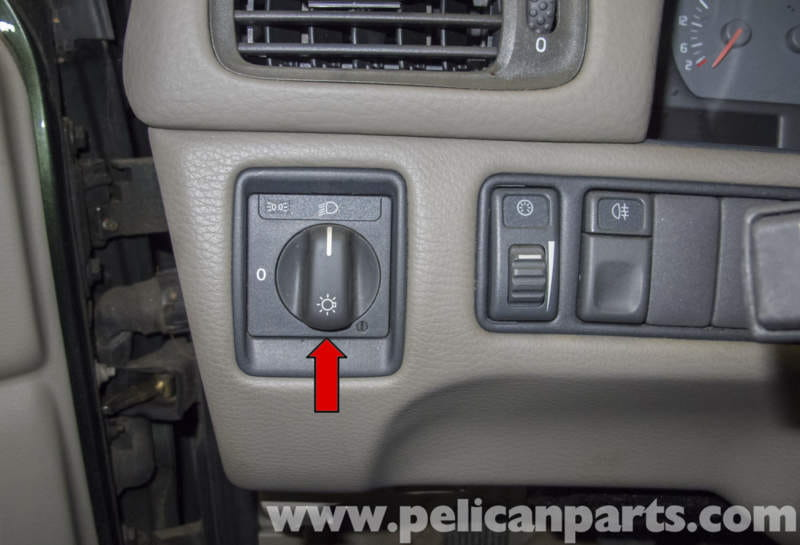 Volvo V70 Headlight Switch Replacement 1998 2007