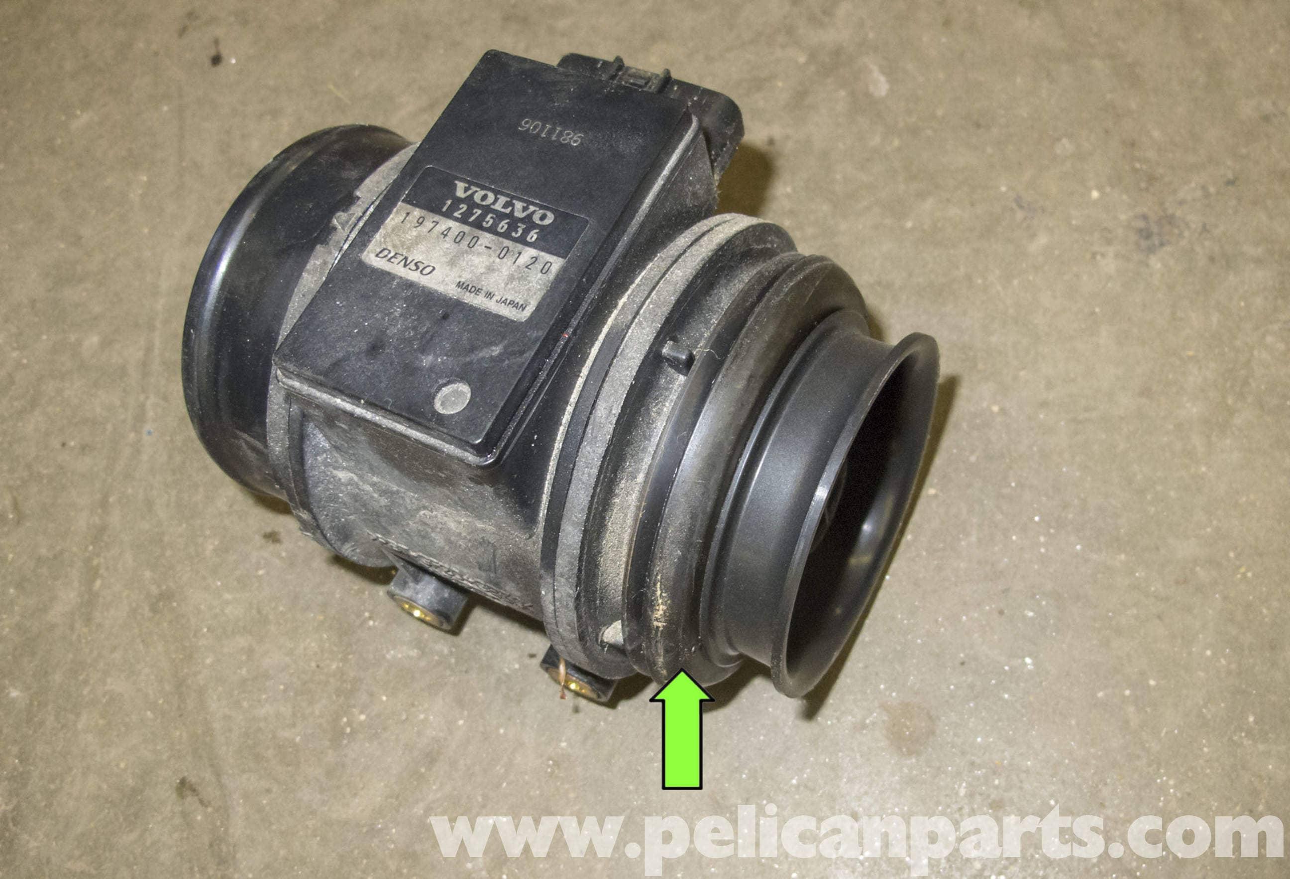volvo v70 mass air flow (maf) sensor replacement (1998-2007