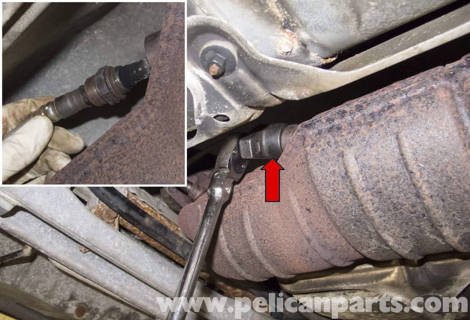 Volvo V70 Oxygen Sensor Replacement - Normally Aspirated Engine (1998-2007) - Pelican Parts DIY ...