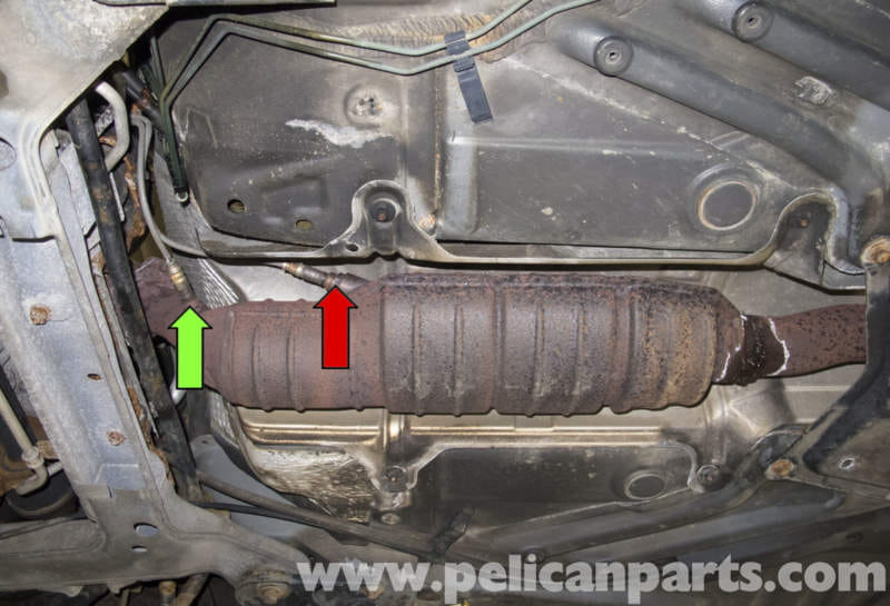 Volvo V70 Oxygen Sensor Replacement Normally Aspirated Engine Rhpelicanparts: Saab 9 3 Downstream O2 Location At Gmaili.net