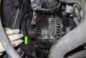 Start by removing the power steering pump.