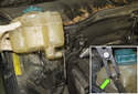 Remove the expansion tank from the vehicle.