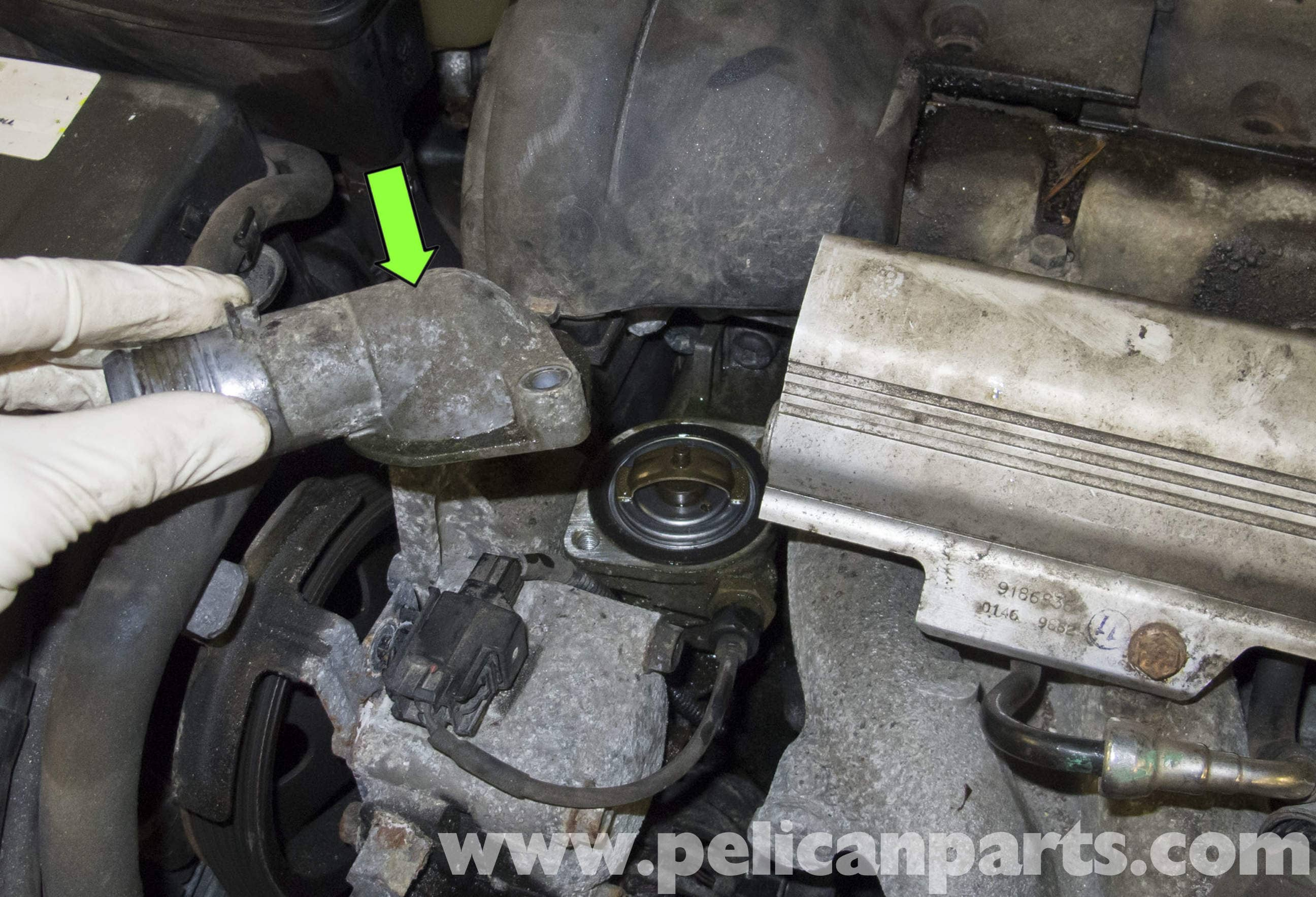 Volvo V70 Coolant Temperature Sensor Testing and Replacement