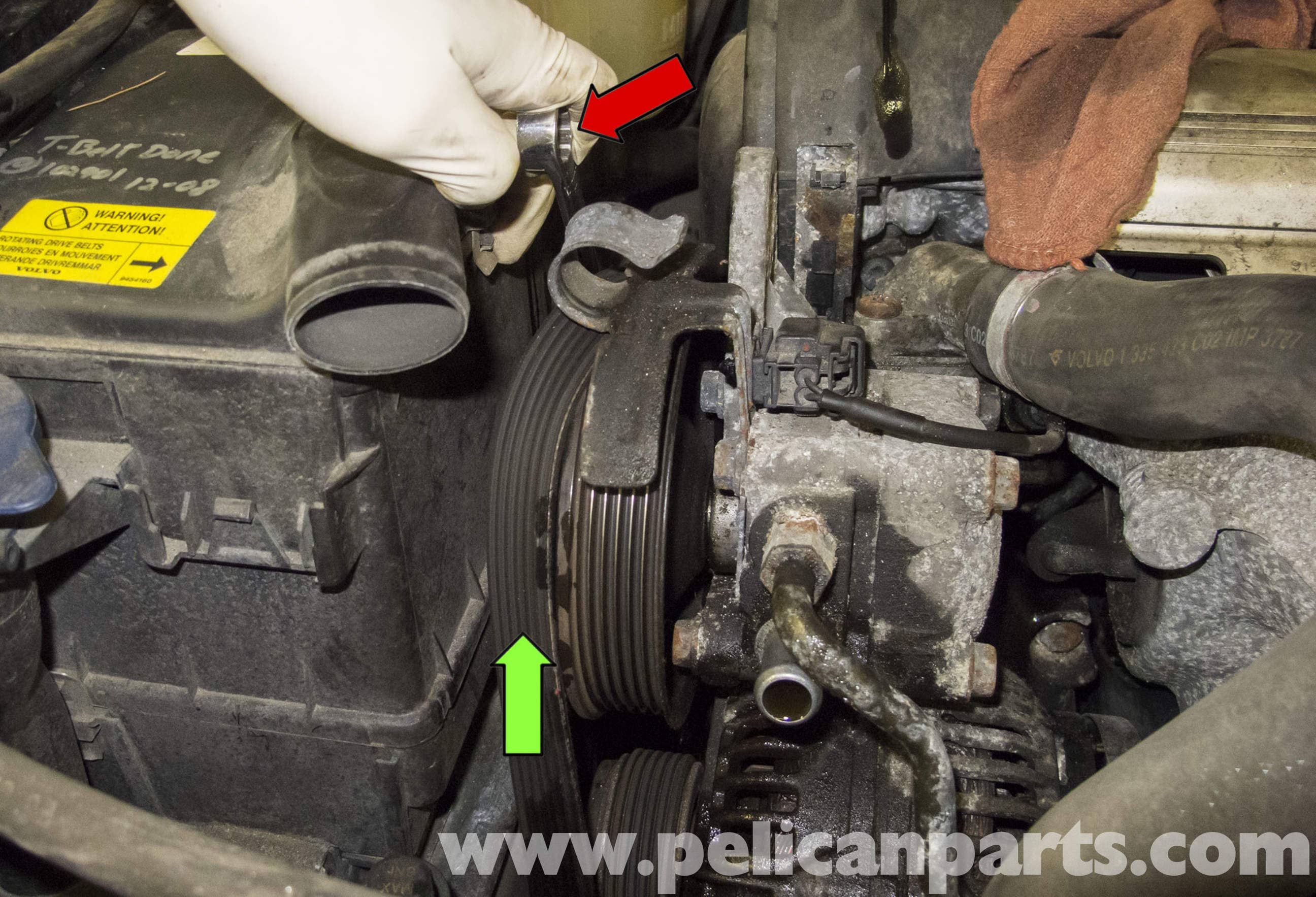 Volvo V70 Power Steering Pump Replacement 1998 2007 Pelican Wiring Diagram Large Image Extra