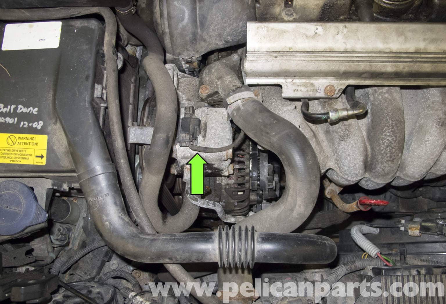 Volvo V70 Power Steering Pump Replacement (1998-2007) - Pelican Parts DIY Maintenance Article