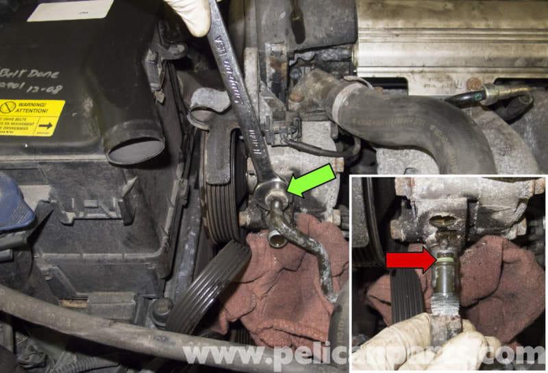 Volvo V70 Power Steering Pump Replacement (1998-2007) - Pelican Parts DIY Maintenance Article