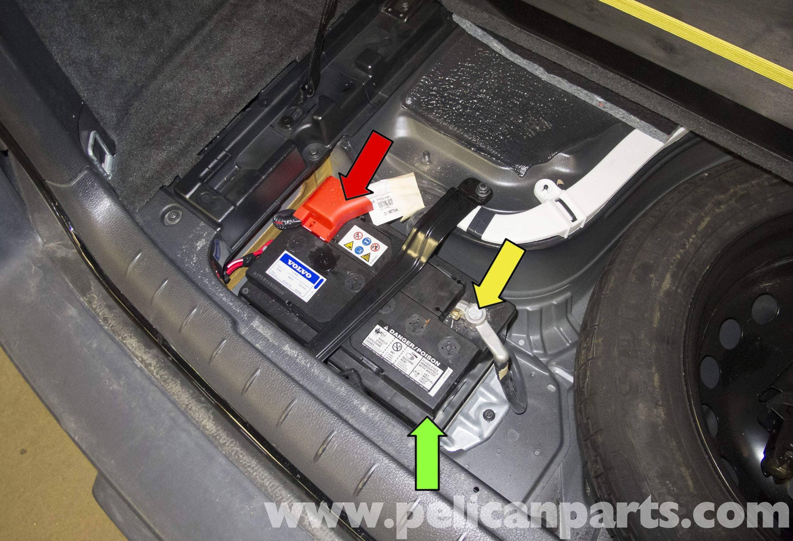 fuse box in volvo s80    volvo    late v70 battery replacement v70  2002 2006     volvo    late v70 battery replacement v70  2002 2006