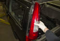 Then pull the taillight out of the body and remove it.