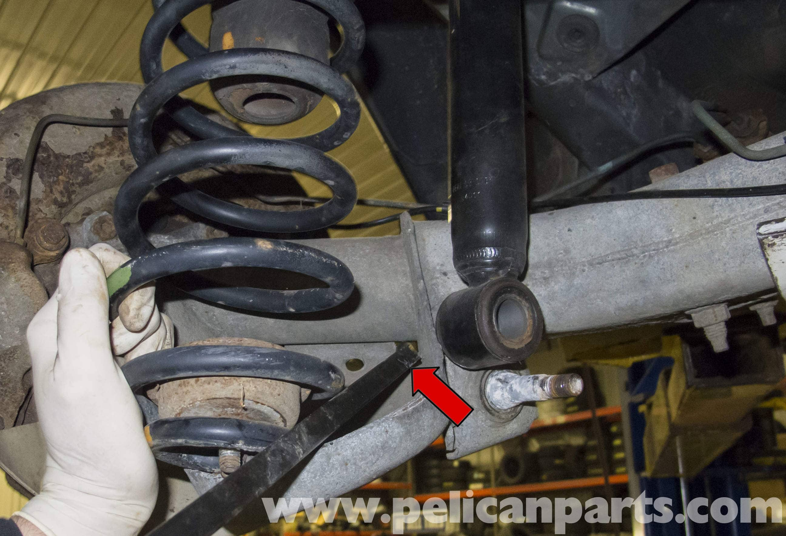 Volvo V70 Rear Coil Spring Replacement (1998-2007) - Pelican Parts DIY Maintenance Article