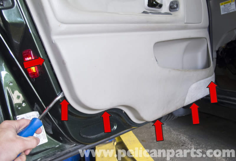 Volvo V70 Front Door Panel Replacement 1998 2007