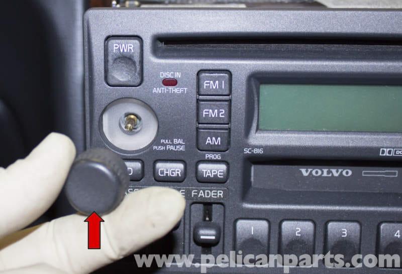 Volvo V70 Radio Replacement 19982007 Pelican Parts Diy Rhpelicanparts: 1986 Volvo Car Radio At Elf-jo.com
