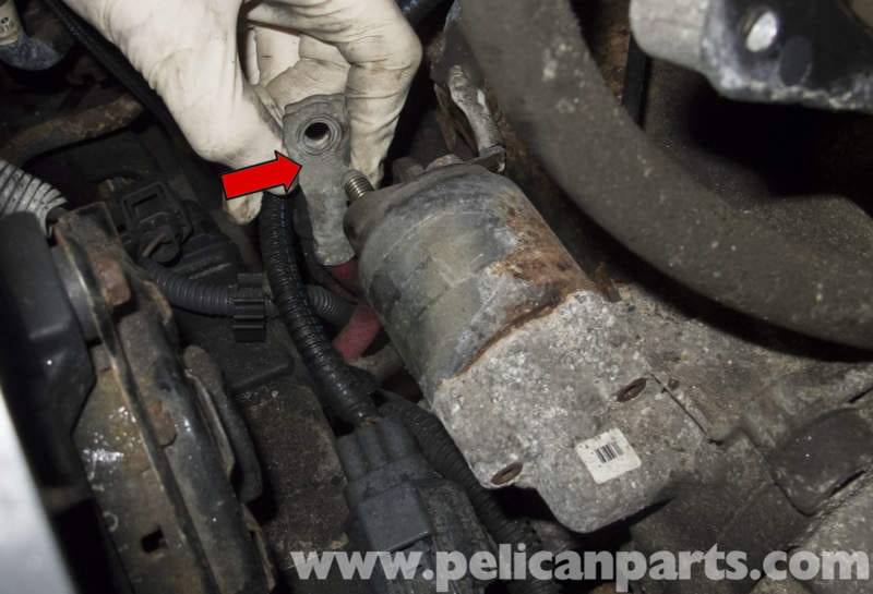 Volvo V70 Starter Replacement 19982007 Pelican Parts Diy Rhpelicanparts: 2001 Volvo V70 Starter Location At Gmaili.net