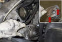 Now you can remove the starter from the engine.