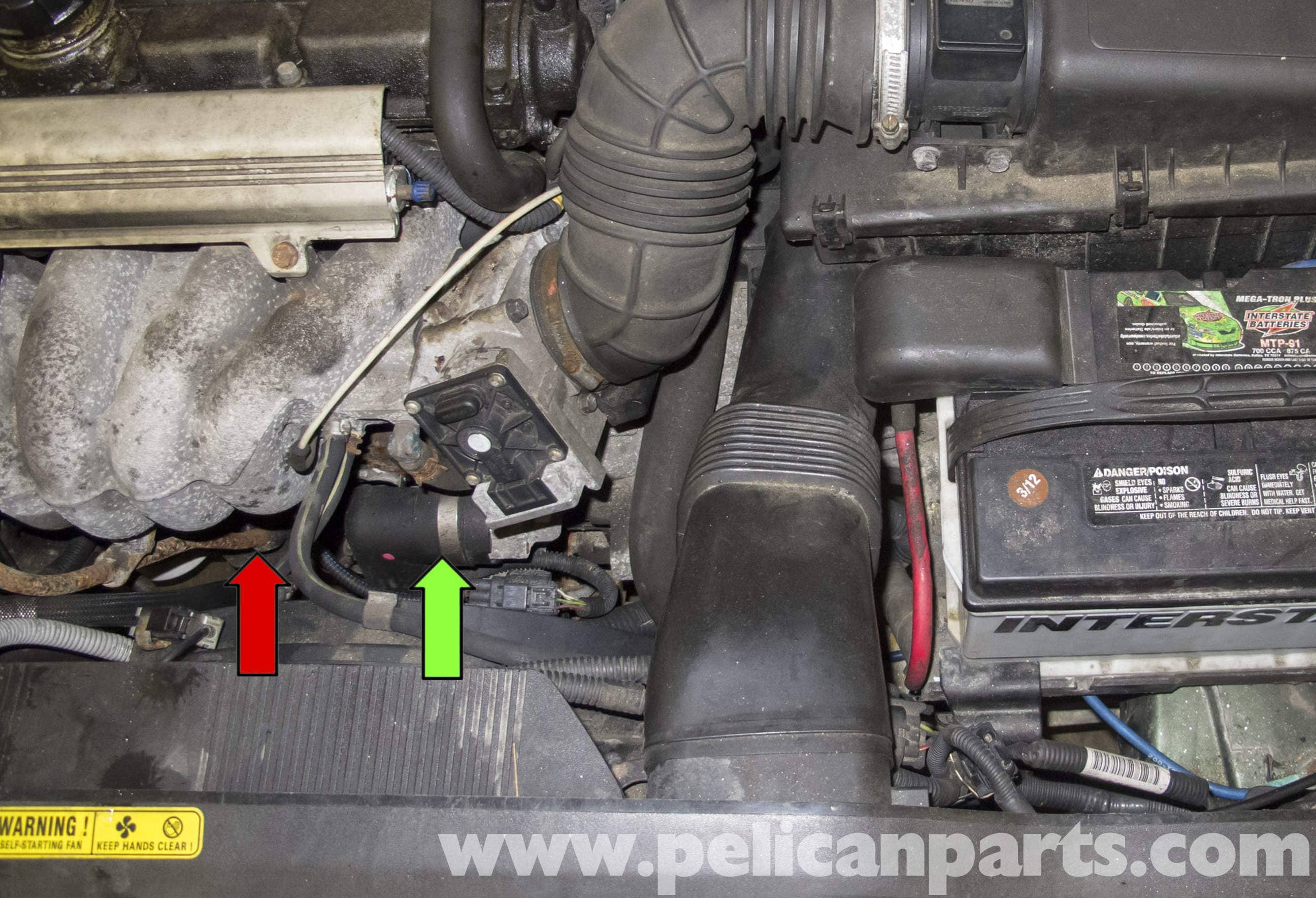 volvo v70 oil pressure sensor replacement  1998