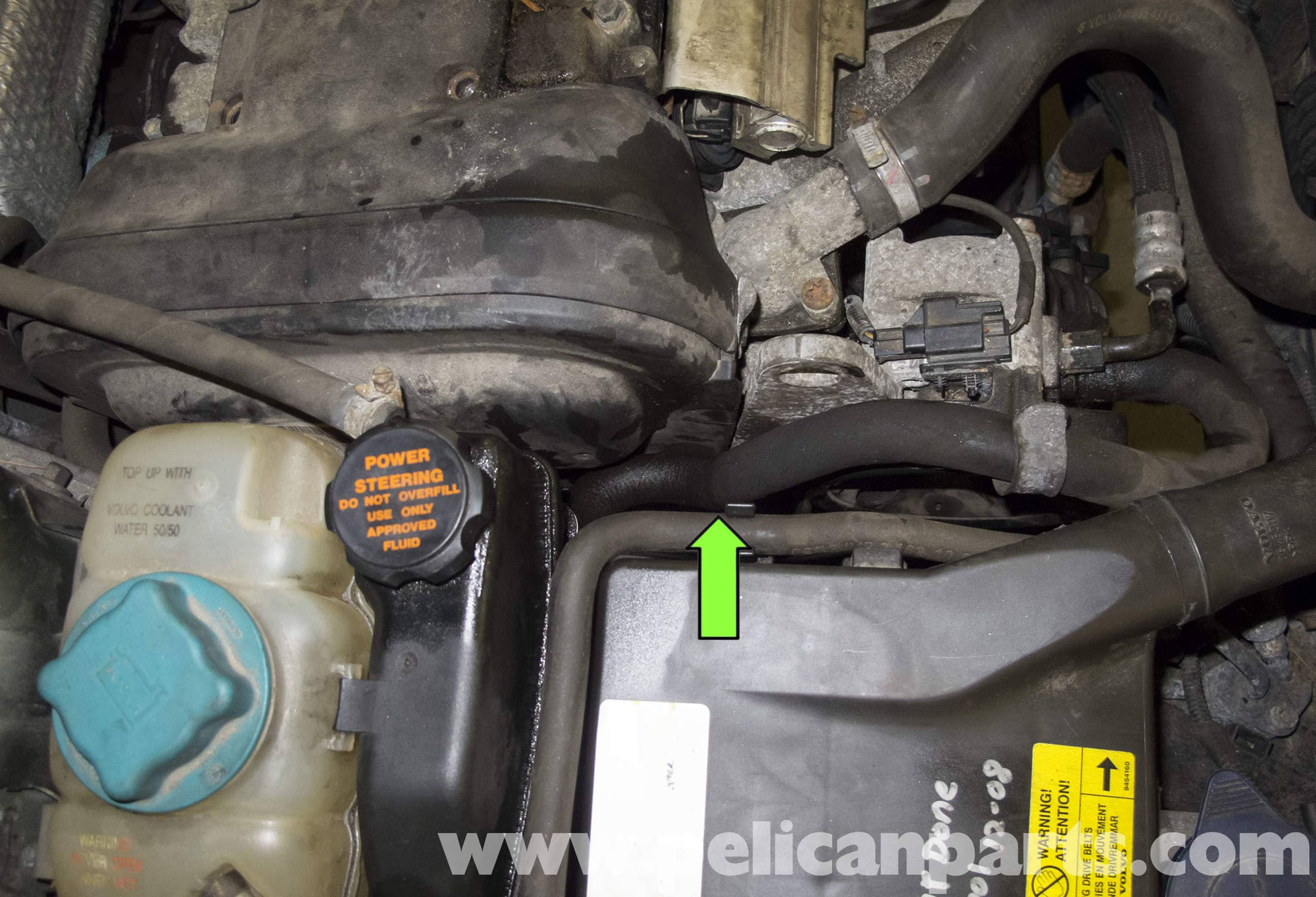 Volvo V70 Timing Belt and Water Pump Replacement (1998-2007