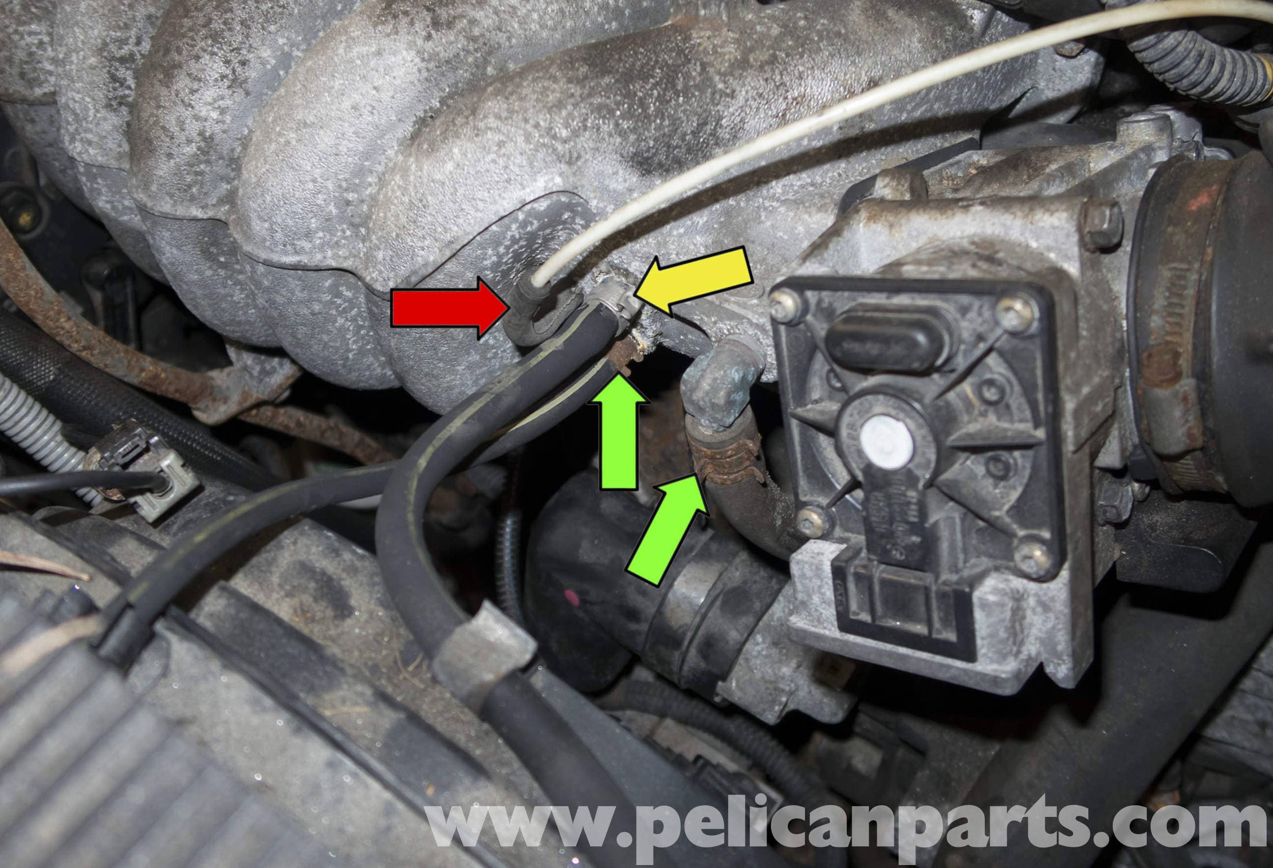 Volvo V70 Parts Diagram Turbo Lines Basic Guide Wiring 1998 Engine Intake Manifold Replacement 2007 S40