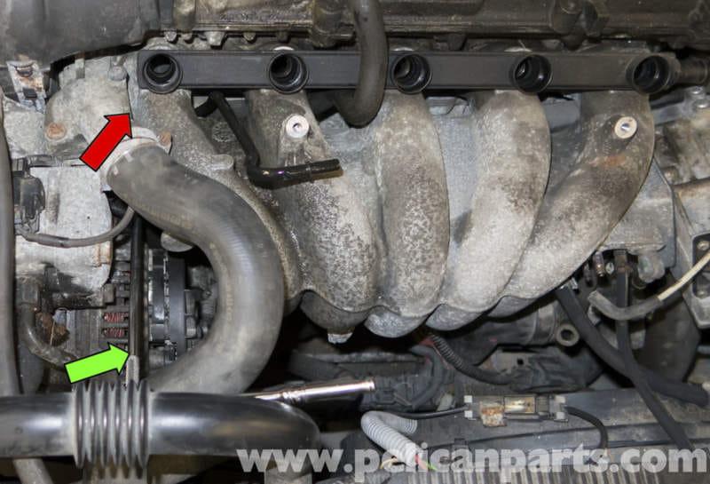 Volvo V70 Intake Manifold Replacement  1998-2007