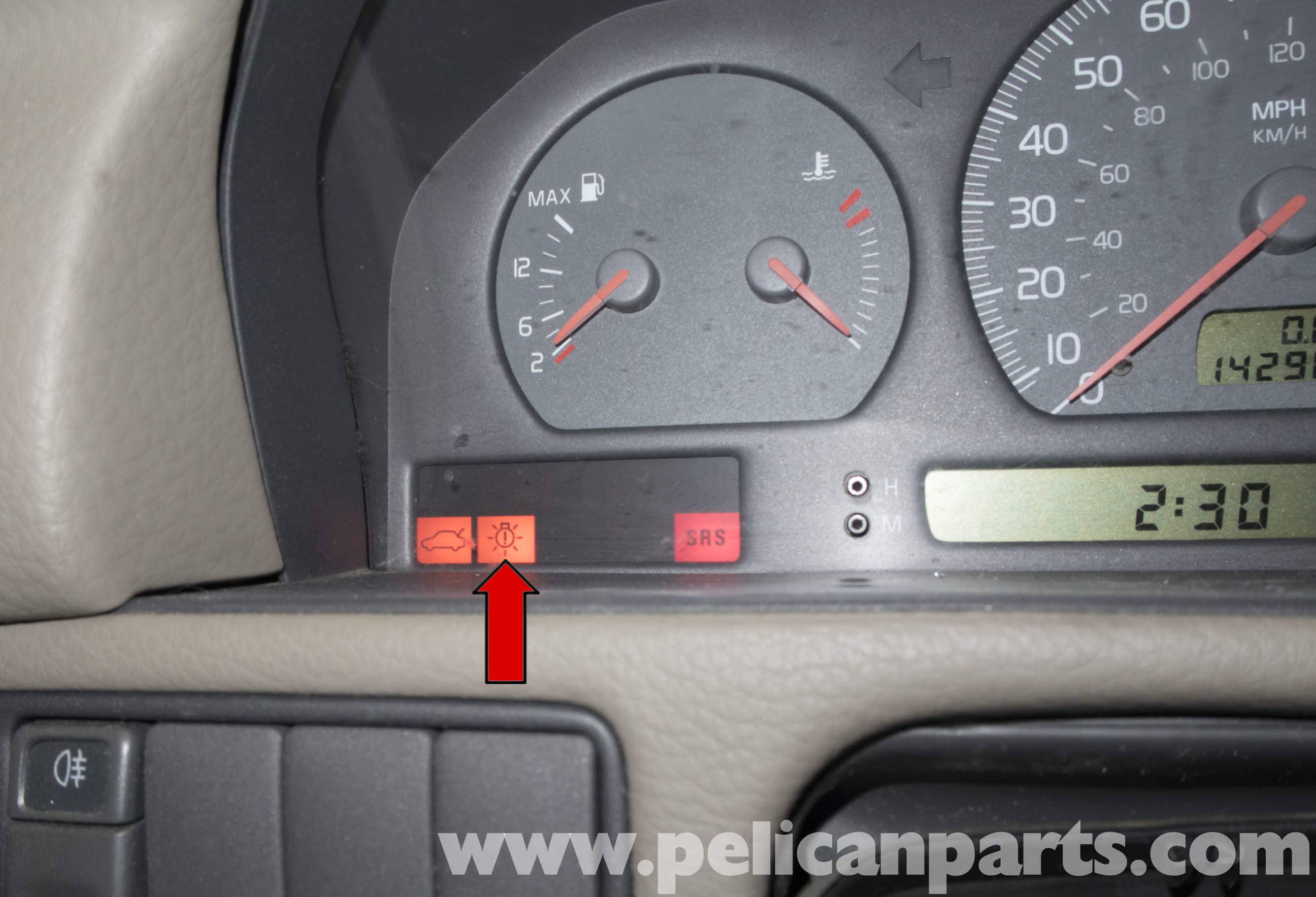 Volvo V70 Lamp-out Module Testing  1998-2007