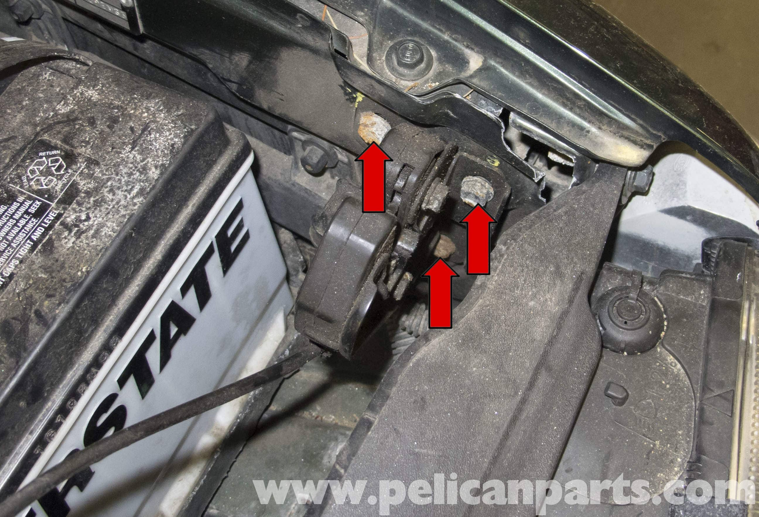 Volvo V70 Hood Release Cable And Latch Replacement 1998 2007 C70 Convertible Fuse Box Large Image Extra