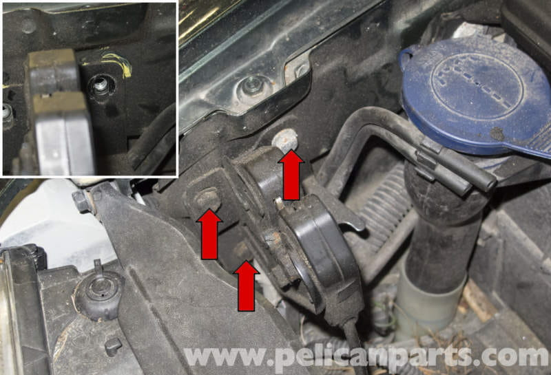 Volvo V70 Hood Release Cable And Latch Replacement 1998