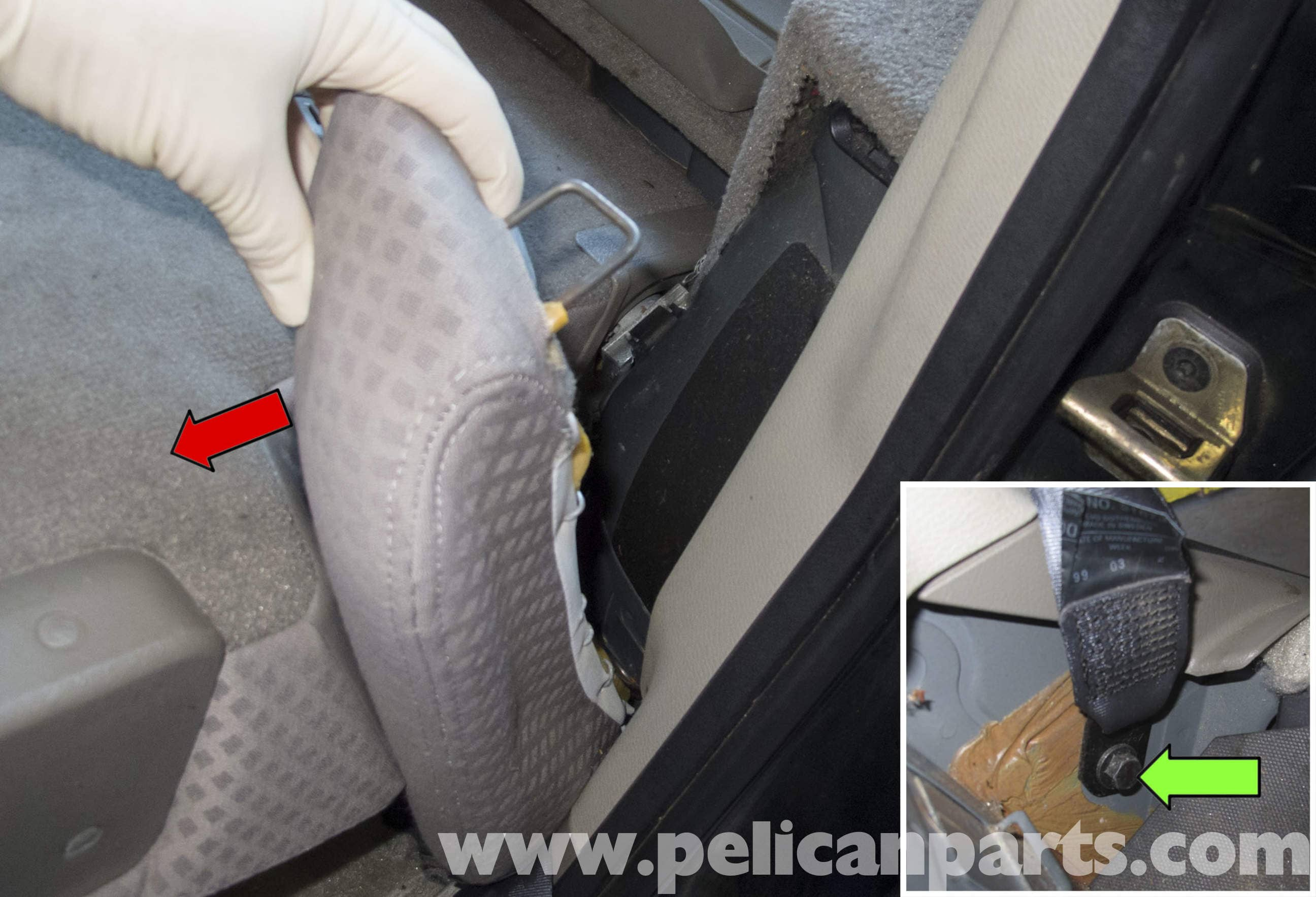 Volvo V70 Seats Replacement 1998 2007 Pelican Parts Diy Fuse Box Removal Large Image Extra