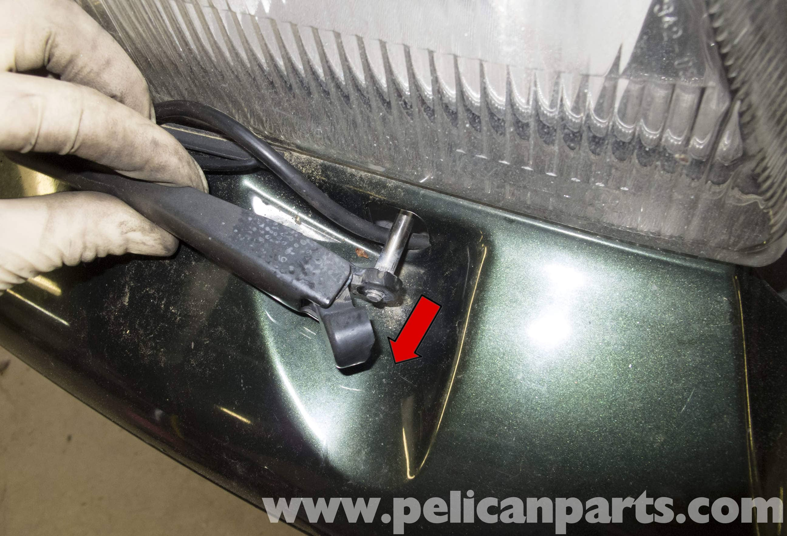 Volvo V70 Headlight Wiper Motor Replacement (1998-2007) - Pelican Parts DIY Maintenance Article