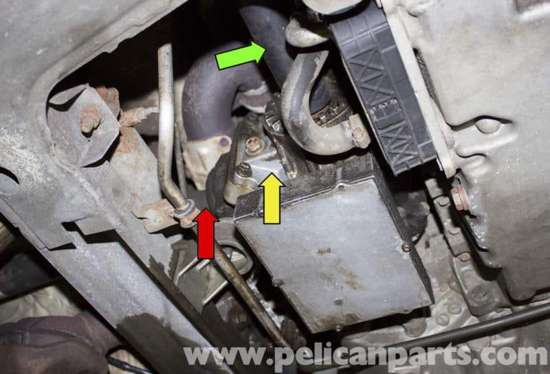 Volvo V70-V70XC Transfer Case Bevel Gear Fluid Replacement (1998