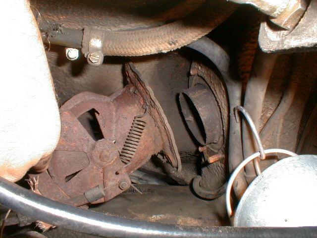 Porsche 911 Heater Flapper Box Replacement 911 1965 89