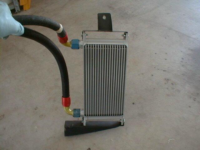 Oil Cooler Technology : Porsche remote oil cooler installation