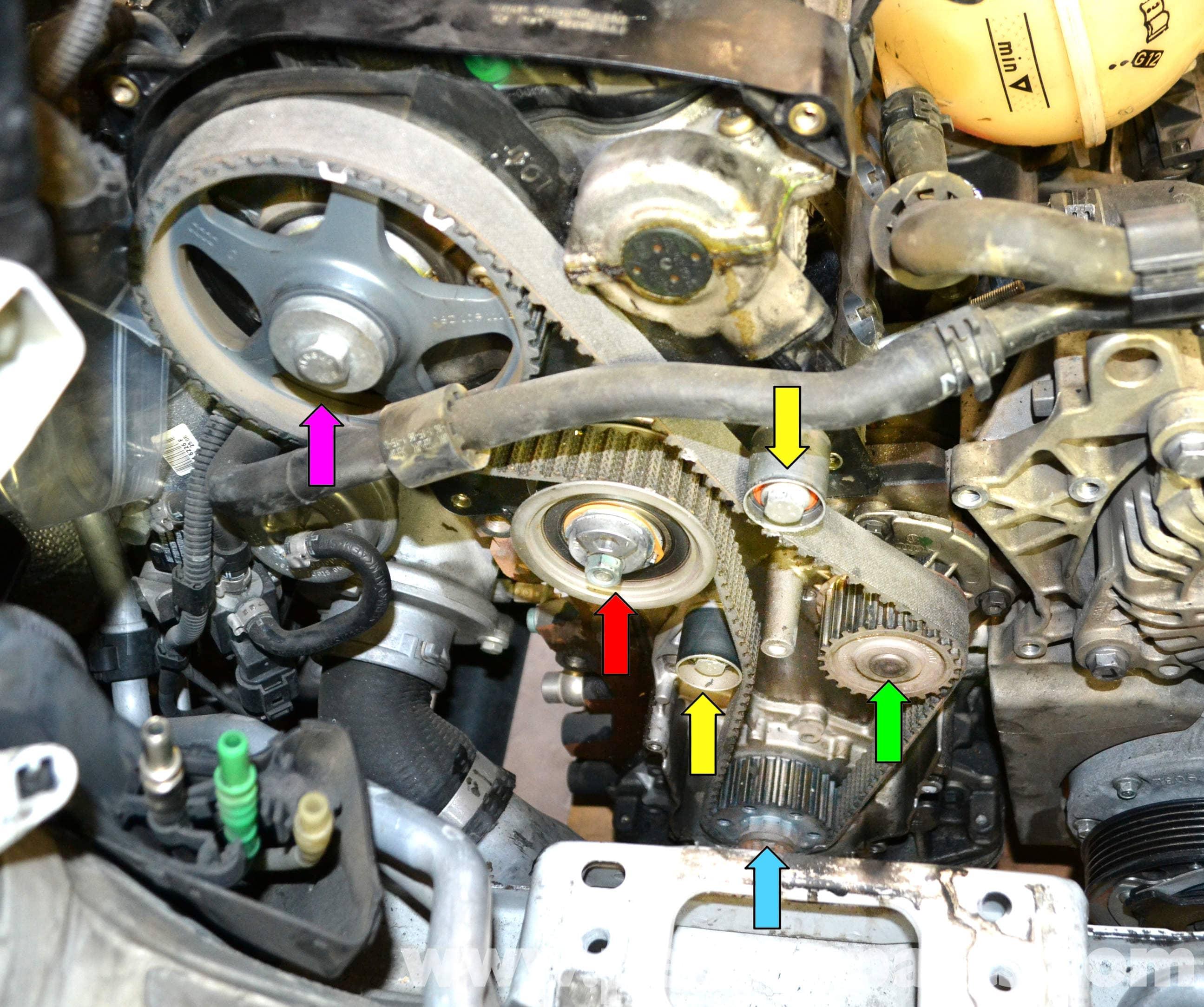 Vw Motor City Colorado Springs: Volkswagen Golf GTI Mk V Timing Belt Tensioner Replacement