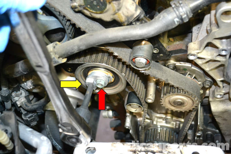 Volkswagen Golf Gti Mk V Timing Belt Tensioner Replacement